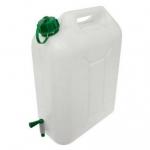 Kanister na vodu s kohútikom (plastový, 10l)