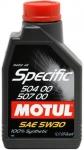 MOTUL SPECIFIC 5W-30 504.00-507.00 1L