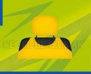 Poťahy opierok hlavy (žlté)