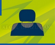 Poťahy opierok hlavy (tmavo modré)