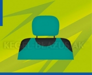 Poťahy opierok hlavy (zelené)