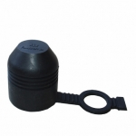 Krytka ťažného zariadenia s okom (gumová)