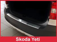 Ochranná lišta hrany kufra Škoda Yeti 2009-2013