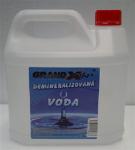 Voda demineralizovaná Grand X   3L