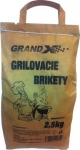 Brikety uhlové 2,5kg / Grand X /