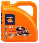 REPSOL MOTO RACING 4T 5W-40 4L