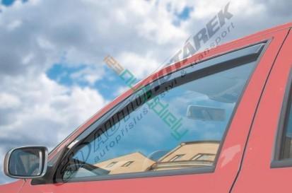 Deflektory okien VW Golf V. 2004-2009 (5 dverí, 4 diely, hatchback)