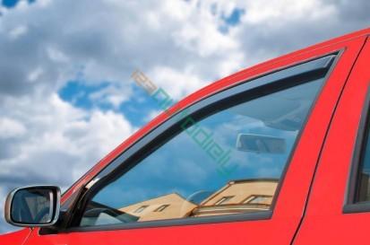 Deflektory okien Škoda Fabia II. 2007-2014 (5 dverí, 4 diely, hatchback)