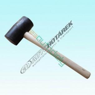 Gumová palička 0,70 kg (čierna) - AKCIA