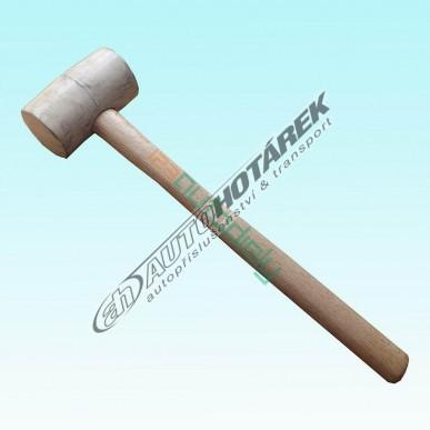 Gumová palička 0,40 kg (biela) - AKCIA