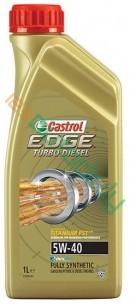 CASTROL EDGE TITANIUM FST TURBO DIESEL 5W-40 1L